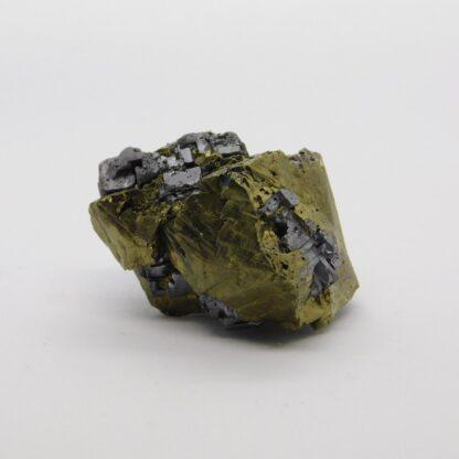 Chalcopyrite, Galena From 9th Septemvri Mine (Deveti Septemvri Mine), Madan ore field, Smolyan Oblast 2